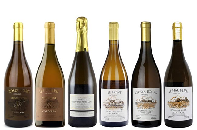 Domaine Huet wines, new releases
