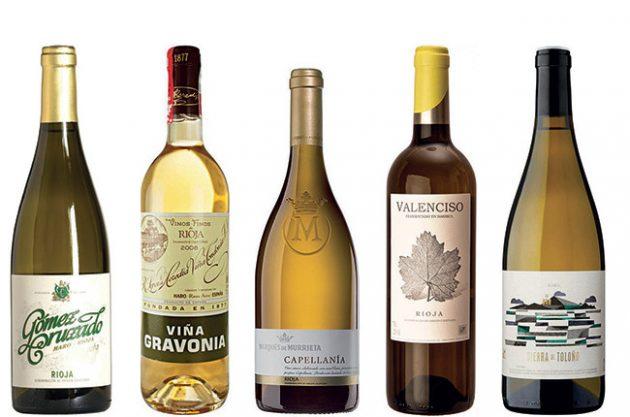 white rioja wines