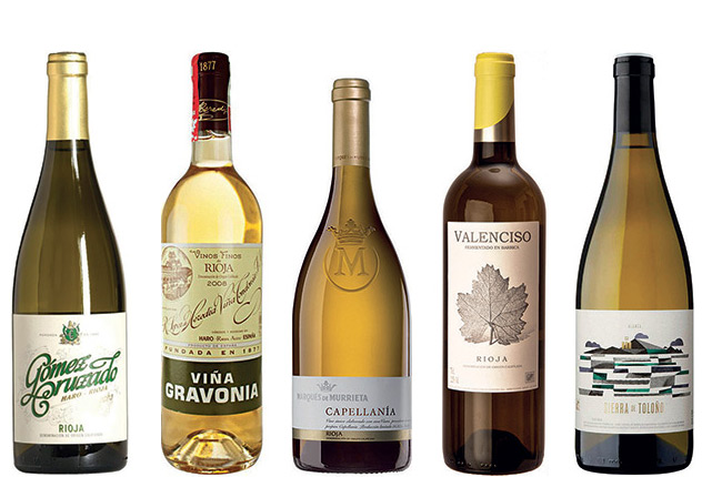 white rioja wines