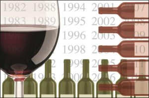 horizontal wine tasting