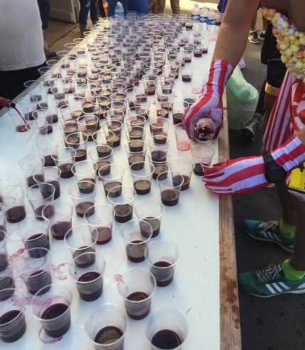 Médoc Marathon wine