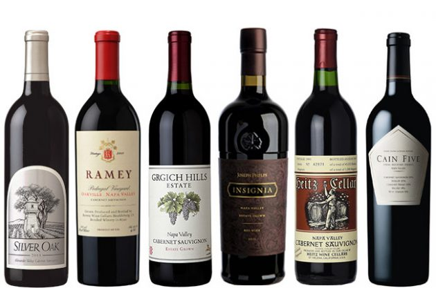 Top Napa Cabernet wines for the cellar