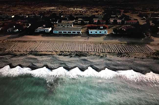 Bahía Bustamante vineyard