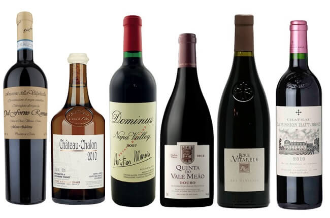 full bodied wines