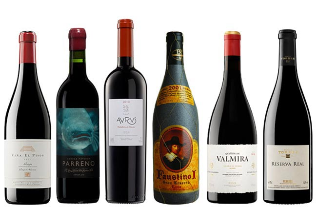 Spanish wines for Christmas