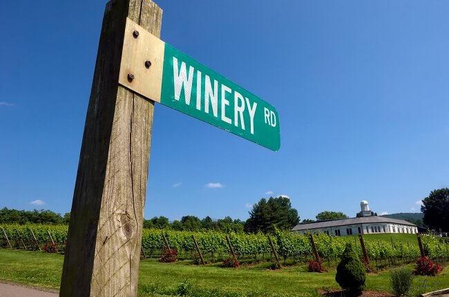 Barboursville Vineyards, Virginia wine