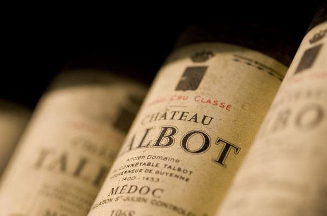 Château Talbot wines