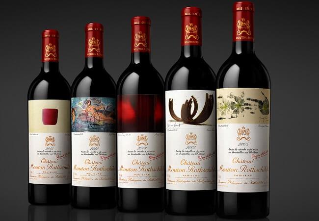mouton rothschild versailles wines
