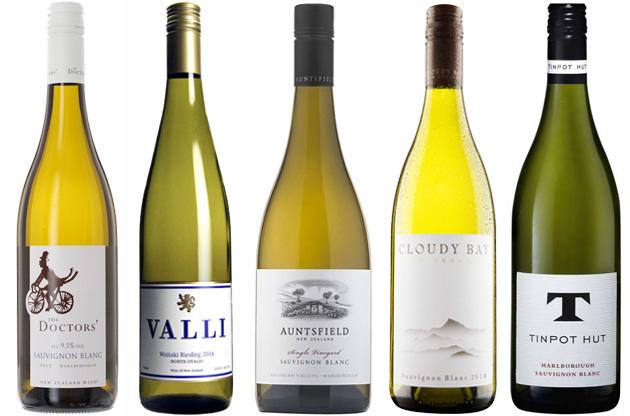 New- Zealand white wines 2018