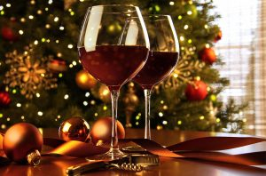 Red wines christmas