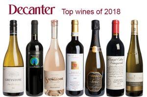 Top wines of 2018