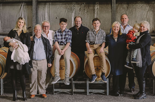 Australian wines family