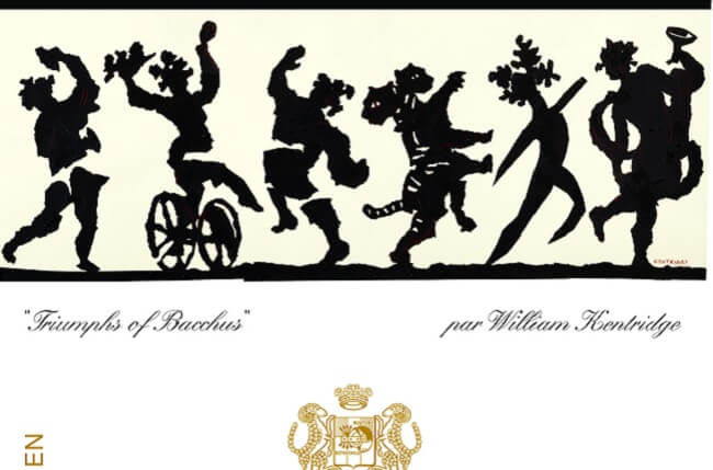 Mouton rothschild 2016 label