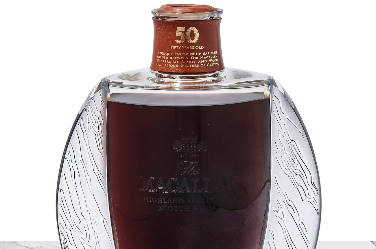 christie's 2018, macallan 50