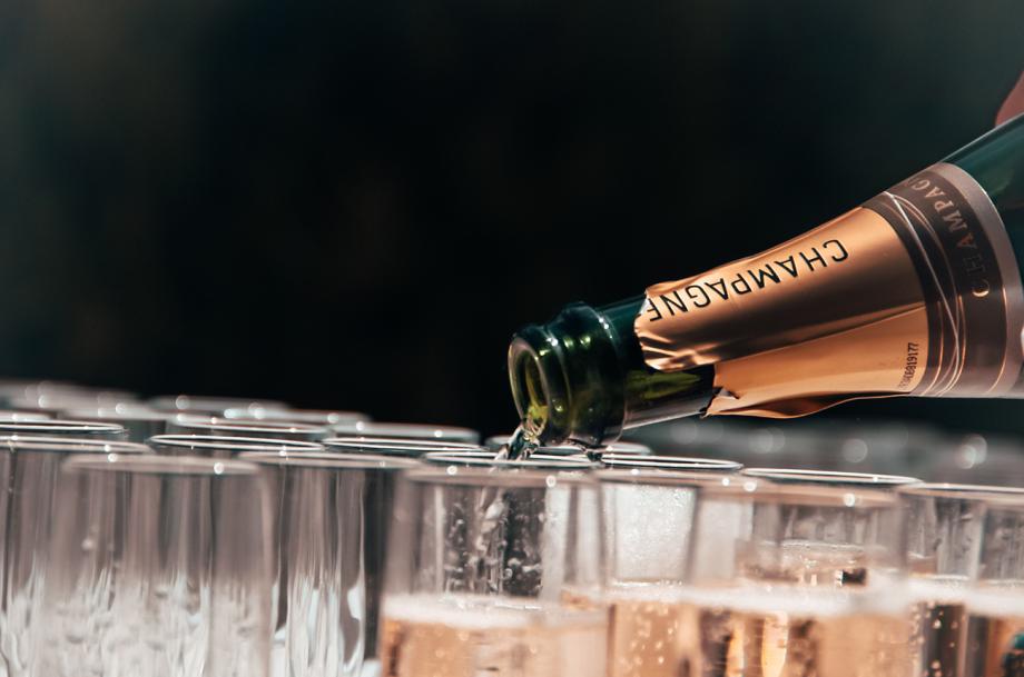 Champagne gluten free