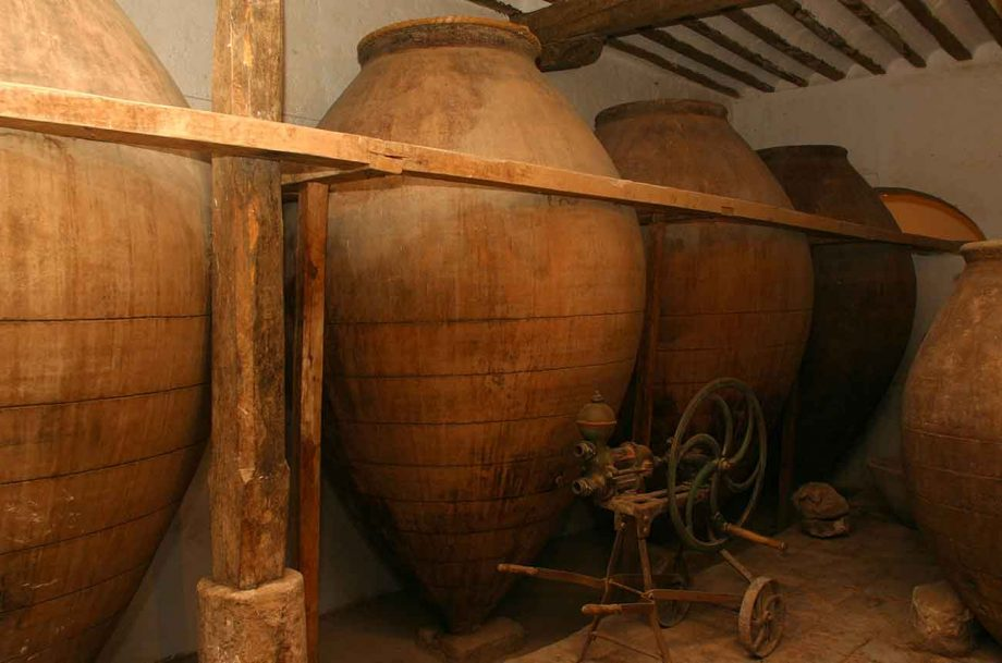 Amphora ageing