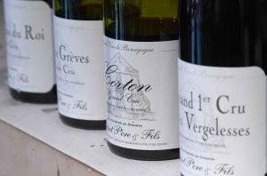 Burgundy premier cru grand cru