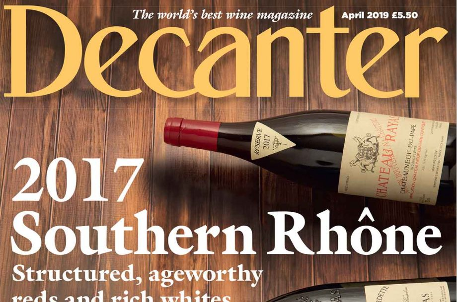 Decanter April 2019
