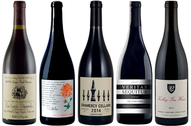 Expert's Choice: Oregon and Washington red wines
