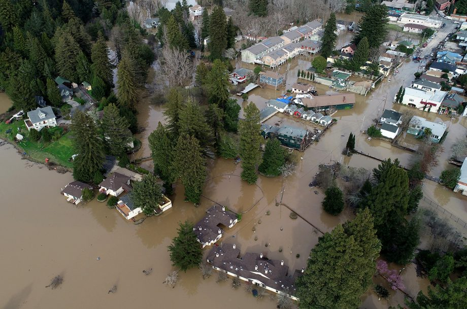 Russian River flooding