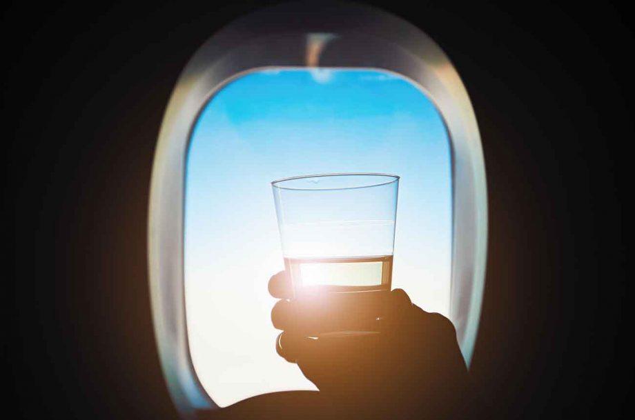 Singapore Airlines wine