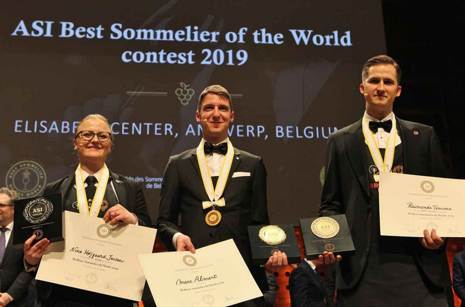 World's best sommelier 2019