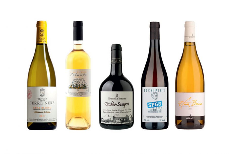 Sicily native white wines