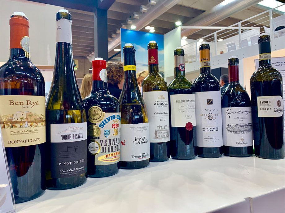 Top Italian wines showcased at Vinitaly 2019