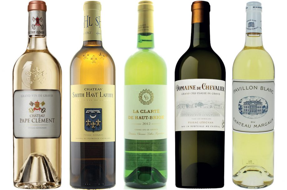 Bordeaux dry white wine