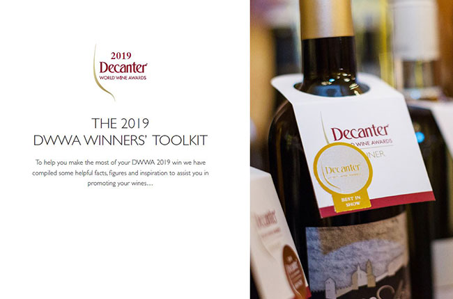 DWWA 2019 Entry pack