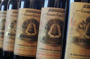 Wine label Bordeaux