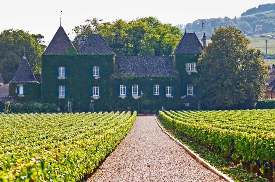 clos commaraine, burgundy