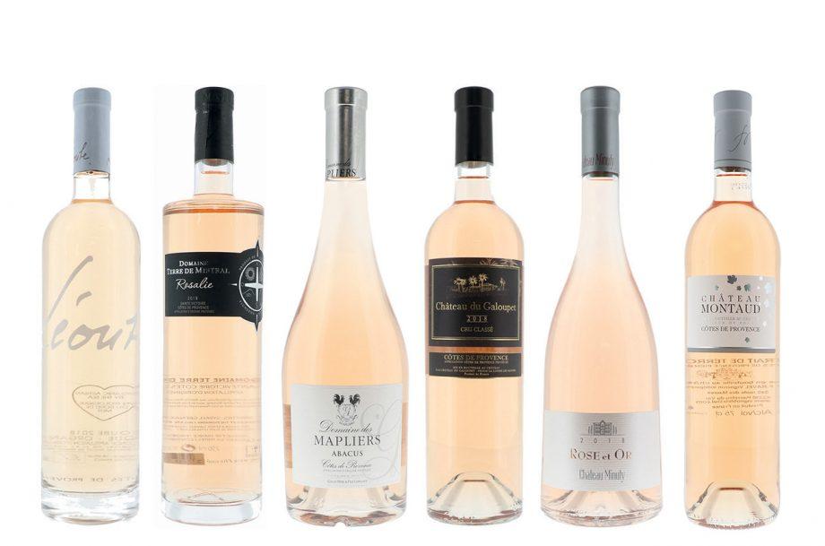 Côtes de Provence rosé panel tasting