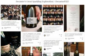 The Great Sparkling Exploration 2019- Social Media Wall