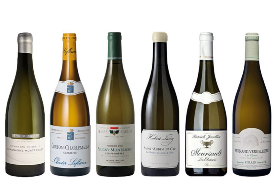 2010 white Burgundy wines