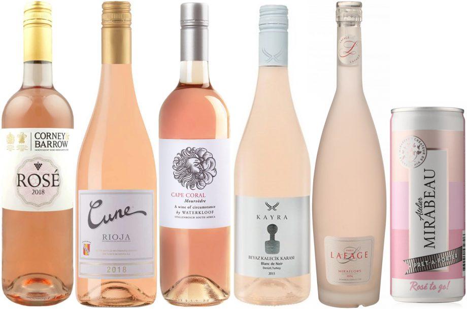 Value rose wines