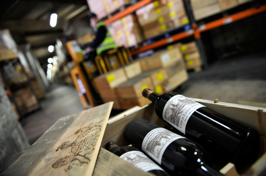 Collecting wine Octavian storage