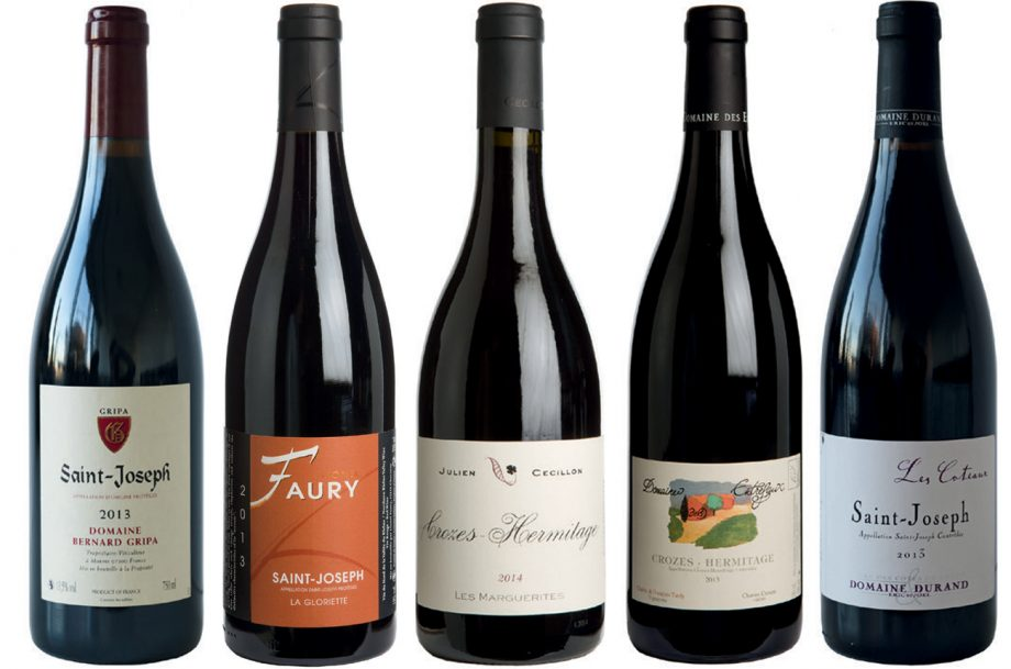 Crozes-Hermitage and St Joseph wines