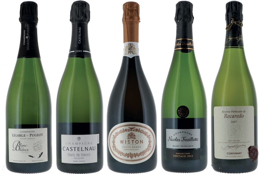 Global blanc de blancs sparkling wine