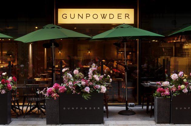Gunpowder outdoor restaurant London