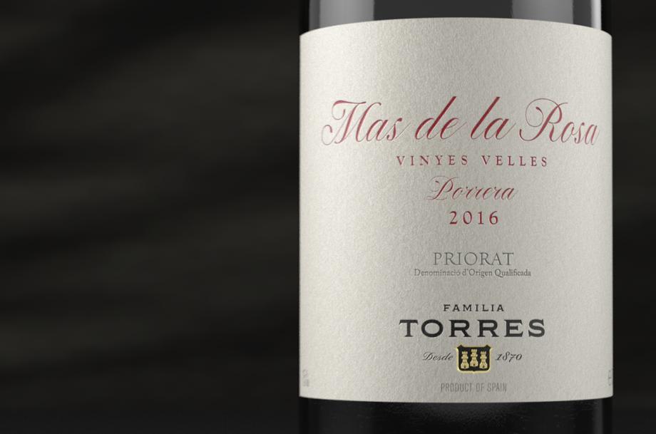 Torres Mas de La Rosa 2016 bottle