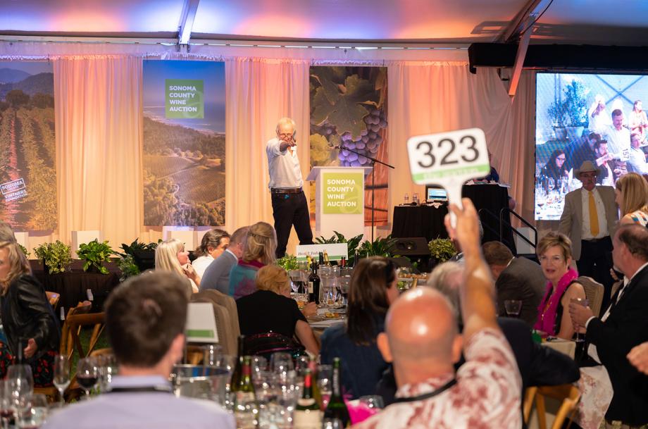 Sonoma Wine auction 2019
