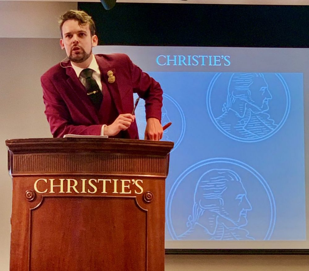 Over £60,000 raised for charity at annual Christie's DWWA auction