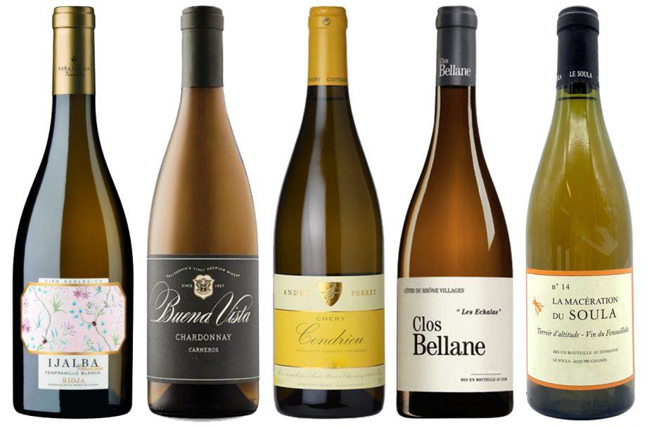 White wines for autumn
