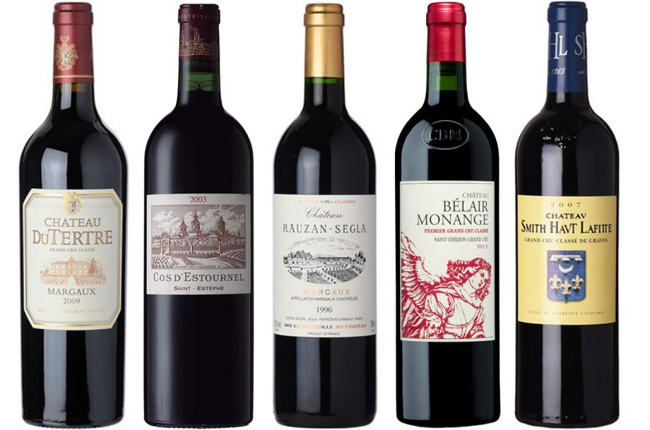 Bordeaux wines drink now