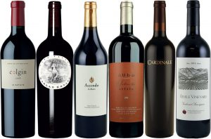 Collectible California wines Cabernet