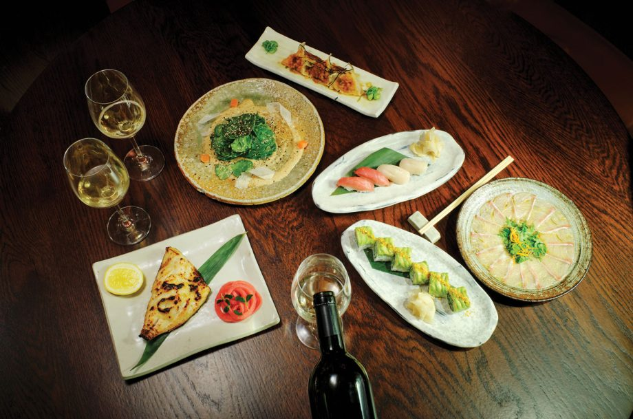 Koshu Wine food
