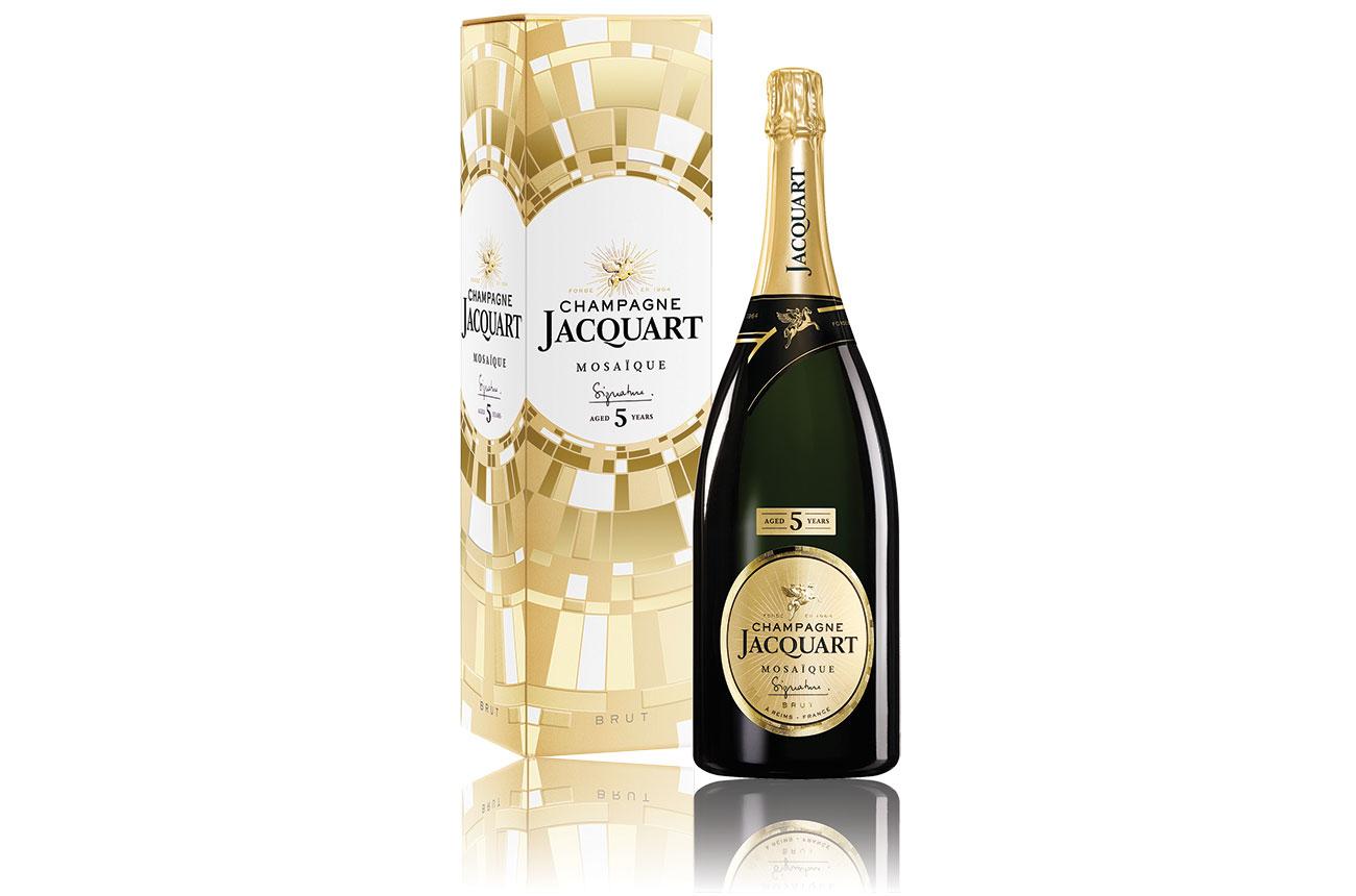 Champagne Jacquart: Signature 5 years aged Magnum