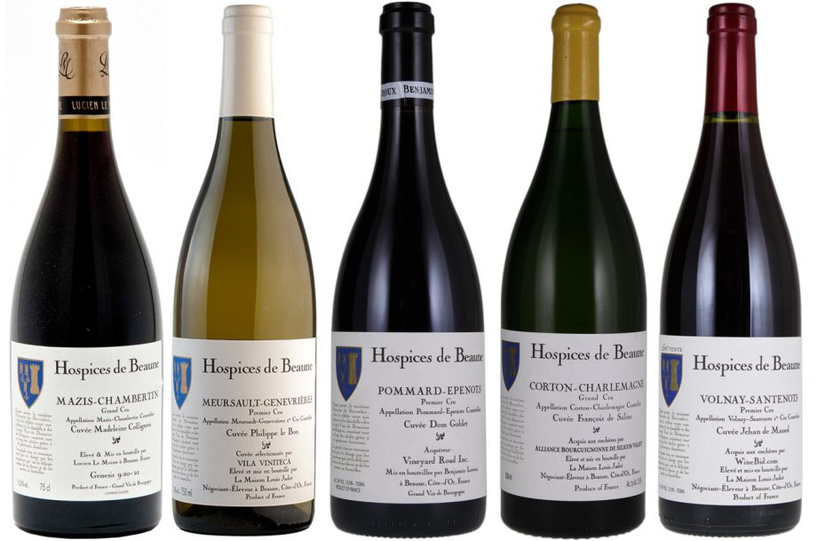 Hospices de Beaune wines