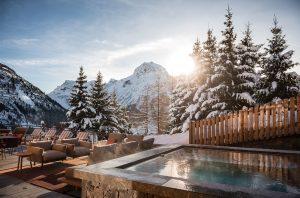 Ski resorts wine